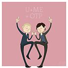 U+ME=OTP HANNIGRAM by nickelcurry