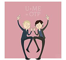 U+ME=OTP HANNIGRAM Photographic Print