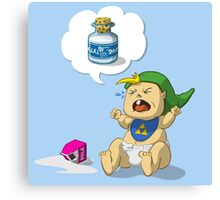 Baby Link Canvas Print