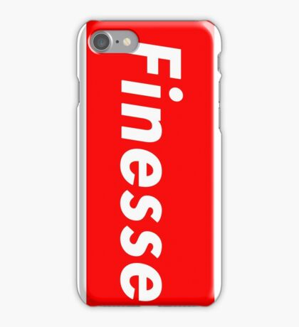 Dyess   Finesse Box Logo   New!   Black  iPhone Case/Skin