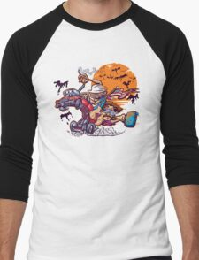Fink and Loathing Men's Baseball ¾ T-Shirt