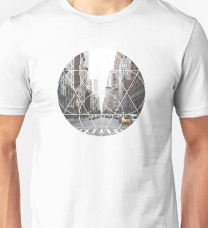 Geometric Shape - Downtown Unisex T-Shirt