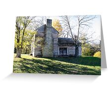 Abraham Lincoln's Birthplace Greeting Card
