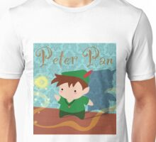 Cute Peter Pan Unisex T-Shirt