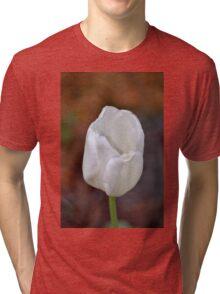 White Tulip Tri-blend T-Shirt