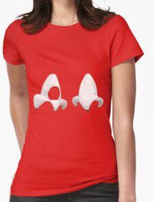 Glitch Hats banana hat Womens Fitted T-Shirt