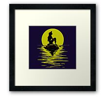 Little Mermaid Ariel  Framed Print