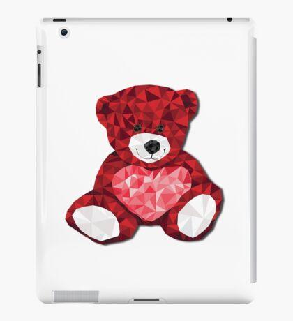 Teddy with heart iPad Case/Skin