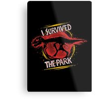 I survived the park Metal Print