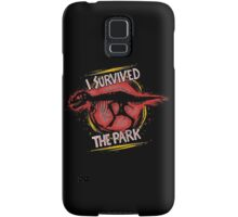 I survived the park Samsung Galaxy Case/Skin