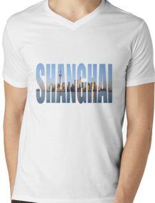 Shanghai Mens V-Neck T-Shirt