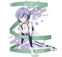 Rei Ayanami Not Your Doll by katertot159