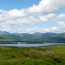 panorama of the view from the kerry way by morrbyte
