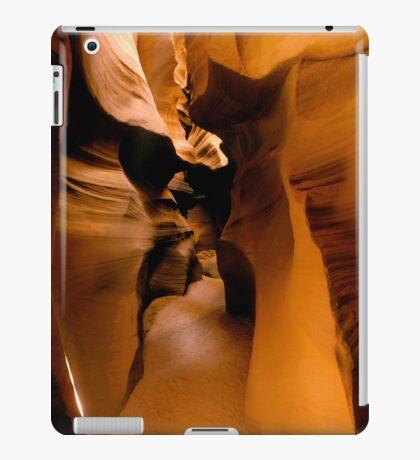Yellow Golden Sandstone Shapes iPad Case/Skin