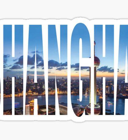 Shanghai Sticker