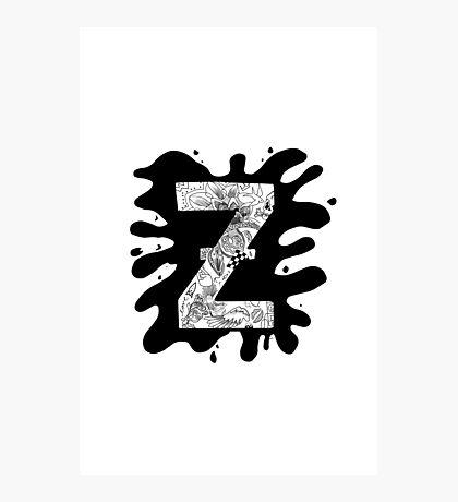 Zap Zed Photographic Print