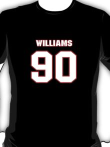 NFL Player Jesse Williams ninety 90 T-Shirt
