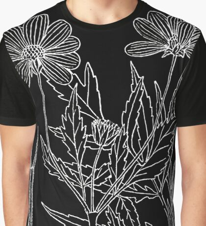 Britton And Brown Illustrated flora of the northern states and Canada 0230 Bidens aristosa BB 1913 1 Graphic T-Shirt
