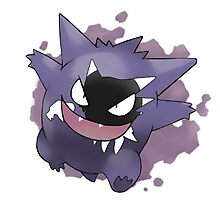 Gengar Evolution by katertot159
