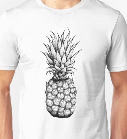 Pineapple - Black Unisex T-Shirt