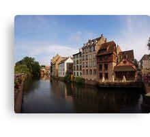 La Petite France, Strasbourg Canvas Print