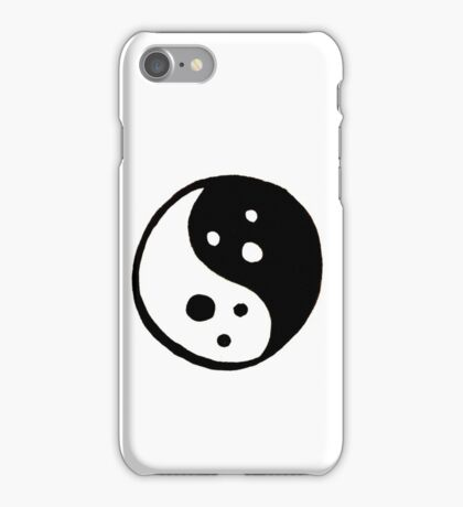 Yin Yang Ghosts iPhone Case/Skin