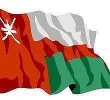 Oman Flag by kwg2200