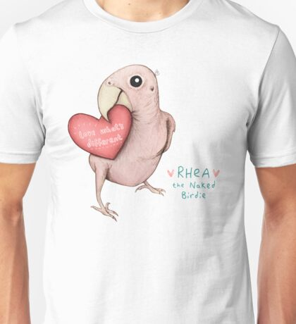 Rhea - Love What's Different Unisex T-Shirt