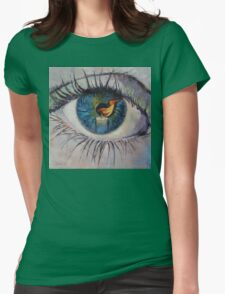 Candle Womens Fitted T-Shirt