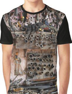 Wall Tool Display Graphic T-Shirt