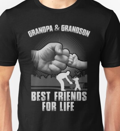 GrandPa and Grandson Best Friends For Life Unisex T-Shirt