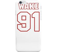 NFL Player Cameron Wake ninetyone 91 iPhone Case/Skin