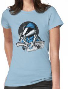 B-Boy Badger Womens Fitted T-Shirt