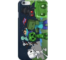 Mine Space Invasion iPhone Case/Skin
