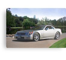 2007 Cadillac XLR Sports Coupe Metal Print