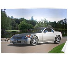 2007 Cadillac XLR Sports Coupe Poster