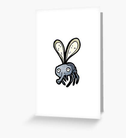 cartoon fly Greeting Card