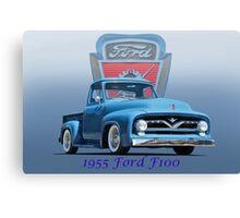 1955 Ford F100 Pickup  Canvas Print