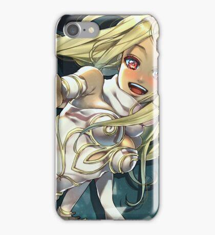 GRAVITY RUSH - White Kat iPhone Case/Skin