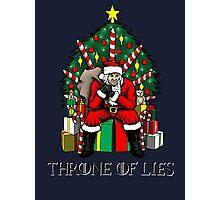 Throne of Lies Photographic Print