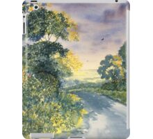 Wild Roses on the Wolds iPad Case/Skin