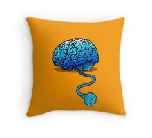 Disconnected Reality Throw Pillow