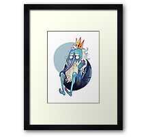 niceking Framed Print