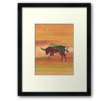 Taurus - Stability Framed Print