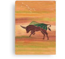 Taurus - Stability Canvas Print