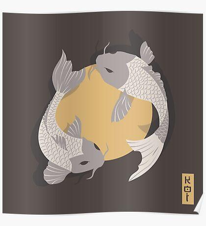 Koi Fish 003 Poster