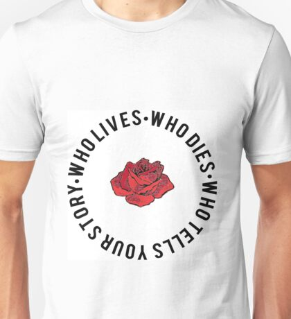 Hamilton Typography  Unisex T-Shirt