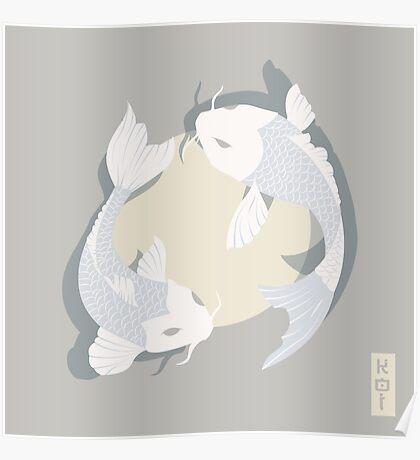 Koi Fish 005 Poster