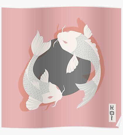 Koi Fish 006 Poster