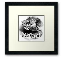 Yojimbo's ZANMATO! Framed Print